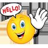 > hello <